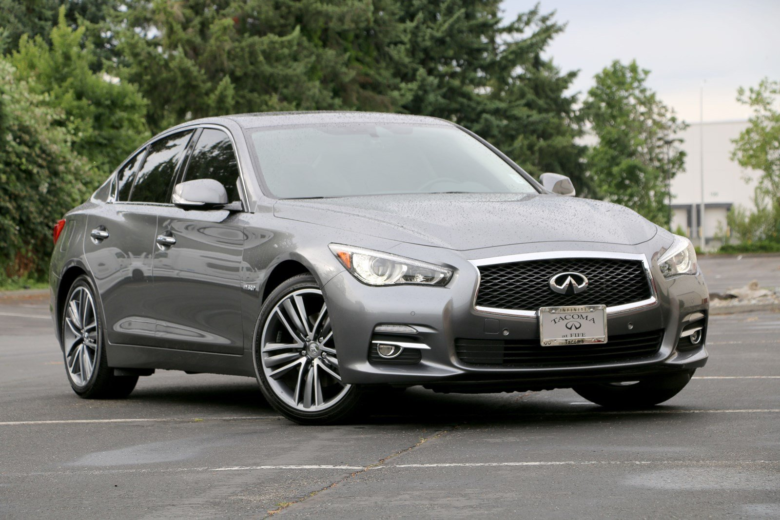 Certified Pre-Owned 2017 INFINITI Q50 Hybrid