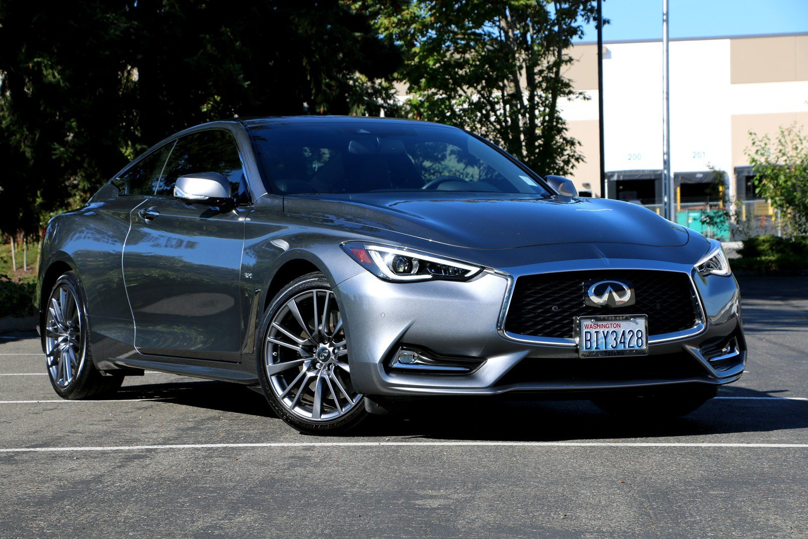 Certified Pre-Owned 2017 INFINITI Q60 Sport