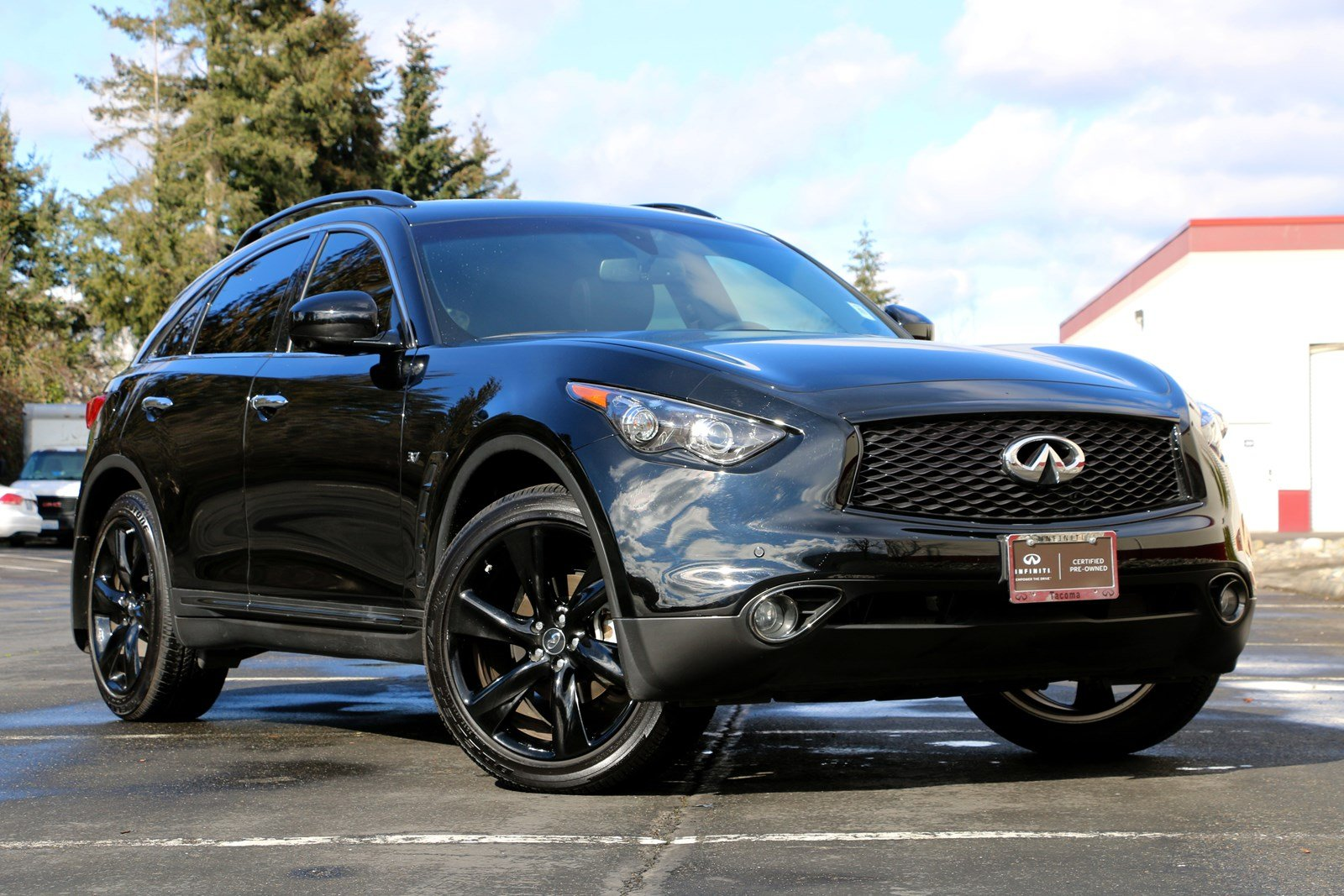 Certified Pre Owned 2017 Infiniti Qx70