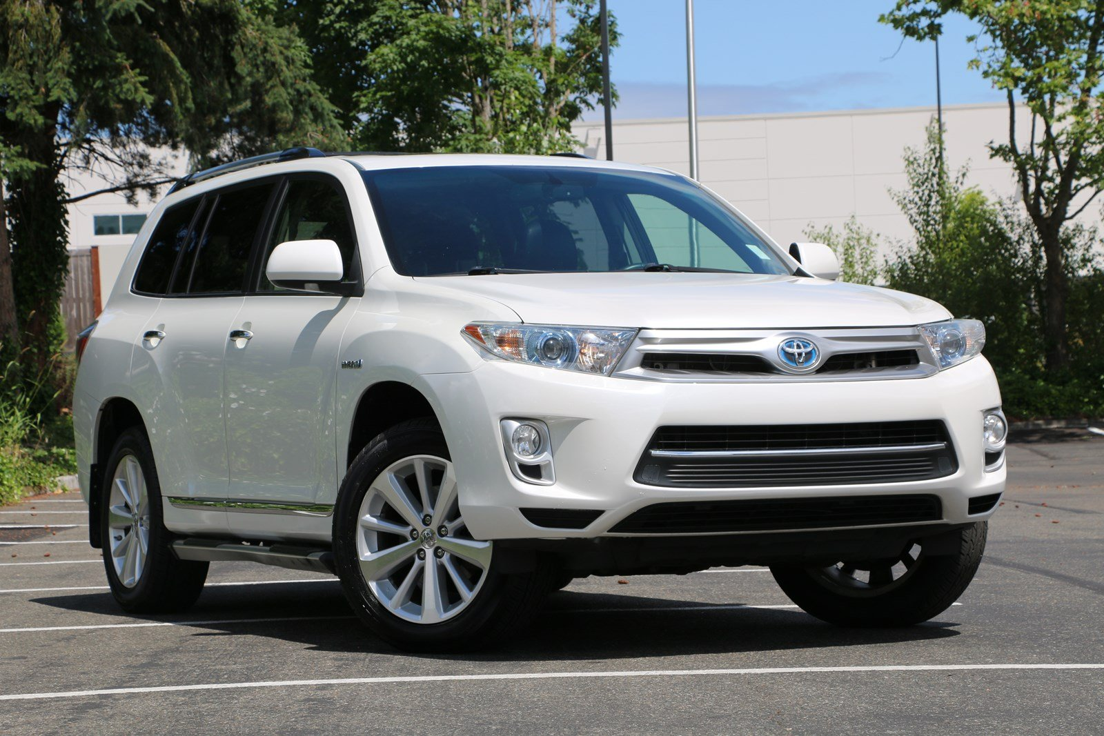 Pre Owned 2012 Toyota Highlander Hybrid Limited Sport Utility In