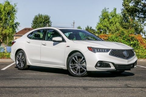 Pre-Owned 2018 Acura TLX with A-SPEC Pkg