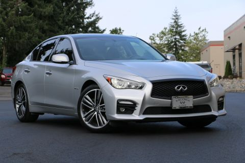 Certified Pre-Owned 2015 INFINITI Q50 Hybrid Sport