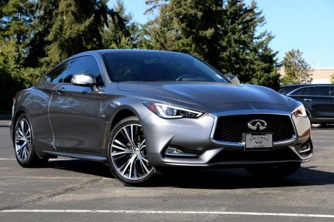 Certified Pre-Owned 2017 INFINITI Q60 2.0t